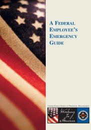 A Federal Employee's Emergency Guide - Oklahoma Federal ...