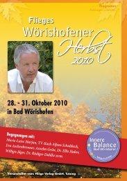 Wörishofener Herbst - Jürgen Fliege