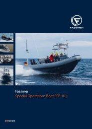 Fassmer Special Operations Boat SFB 10.1 - Fr. Fassmer GmbH ...