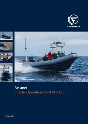 Fassmer Special Operations Boat SFB 10.1 - Fr. Fassmer GmbH ...