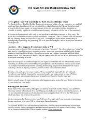 Legacy factsheet - PDF 161 KB
