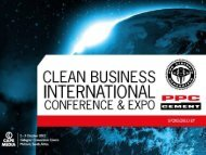 the presentation - Clean Business International