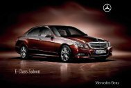 E - Class Saloon - Mercedes-Benz Nigeria