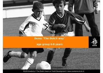 Dutch 6-8 year olds