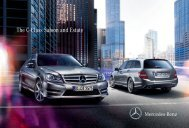 The C-Class Saloon and Estate - Mercedes-Benz
