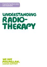 Understanding radiotherapy - Macmillan Cancer
