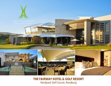 Brochure - The Fairway Hotel & Golf Resort