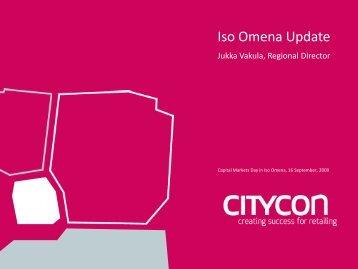 Title Lorem ipsum 30 pt - Citycon