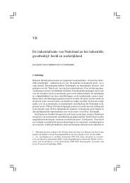 De industrialisatie van Nederland en het industriële grootbedrijf