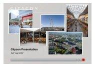 Cit P t ti Citycon Presentation
