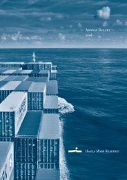 Annual Report 2008 - Hansa Mare Reederei