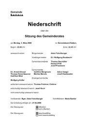 Protokoll vom 3.3.2008 (94 KB) - .PDF - Natters