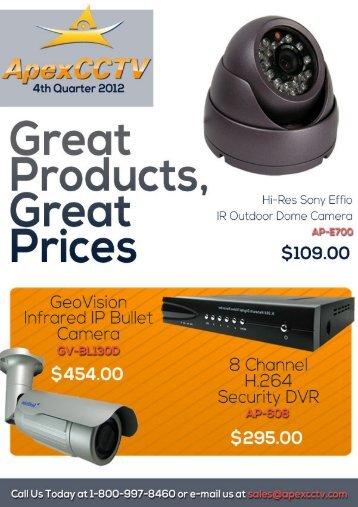 Catalog - CCTV Cameras