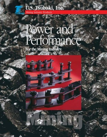 Mining Brochure - Tsubaki