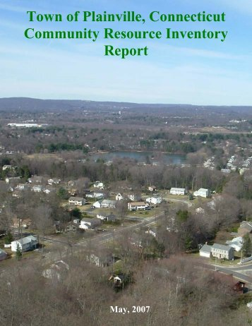 Community Resource Inventory - Town of Plainville