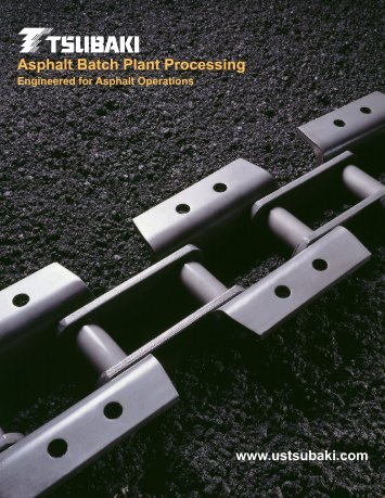 Asphalt Batch Plant Processing - Tsubaki