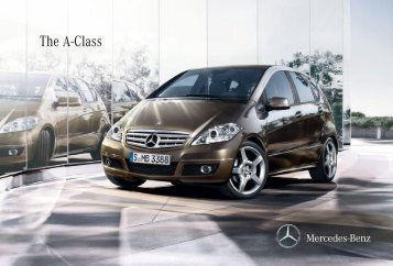 The A-Class - Mercedes-Benz