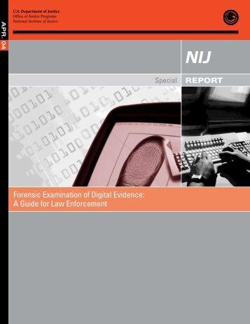 Forensic Examination of Digital Evidence - Federal Defenders ...