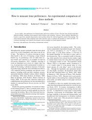 An experimental comparison of three methods - Judgment and ...