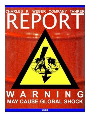 W A R N I N G - Charles R. Weber Company, Inc.
