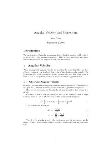 Printables Angular And Linear Velocity Worksheet Answer Key linear angular velocity and momentum kurt nalty