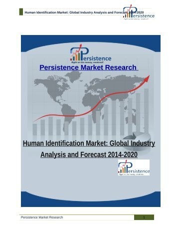 Human Identification Market: Global Industry Analysis and Forecast 2014-2020