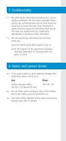 Direct Debit Services Agreement Direct Debit Services ... - TIO - Page 5