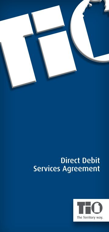 Insurance Direct Debit Agreement - TIO