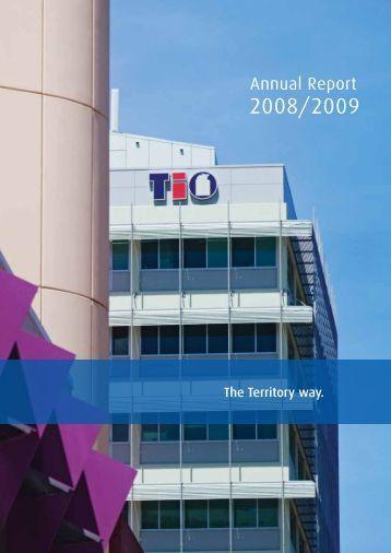 Annual Report 2008/2009 - TIO