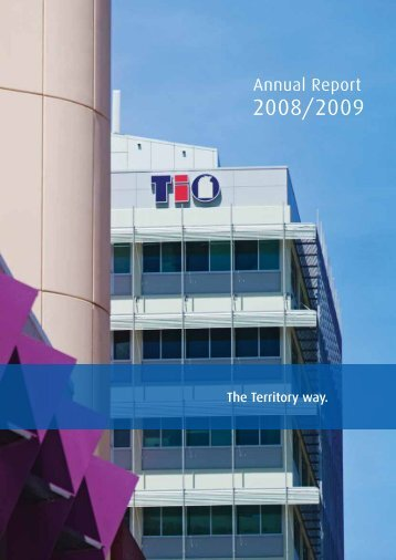Annual Report 2008/2009 - TIO