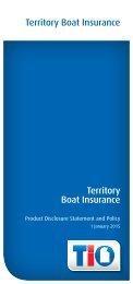 Territory Boat Insurance Territory Boat Insurance - TIO