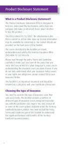 Territory Landlord Insurance Territory Landlord Insurance - TIO - Page 4