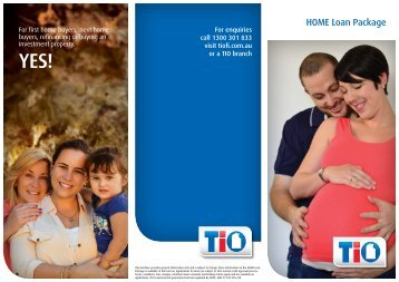 The New Home Loan Package - TIO