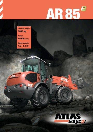 7000 kg 1,3 - 1,4 m3 - Global Construction Plant & Equipment Ltd