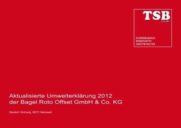 Aktualisierung 2012 - TSB Gruppe