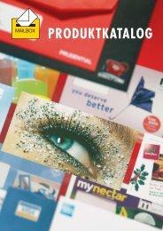 PRODUKTKATALOG - Mailbox Kuvert & Druck GmbH