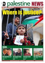 magazine online - Palestine Solidarity Campaign
