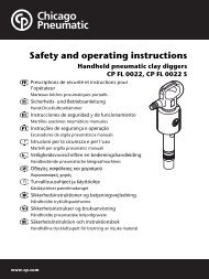 Safety and operating instructions - Jackhammers.com