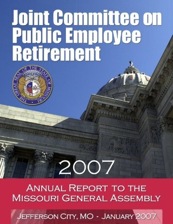 2007 Annual Report for Plan Year 2005 - jcper