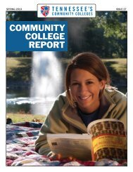 Spring 2013 - Tennessee's Community Colleges - Tennessee Board ...