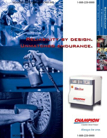20 hp Rotorchamp - McGuire Air Compressors, Inc