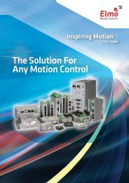Gold Line Drive Administration Manual pdf - Elmo Motion Control