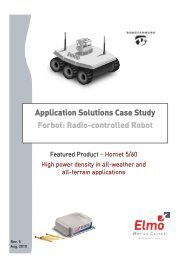 Radio-controlled Robot Application-Application Solutions Case Study