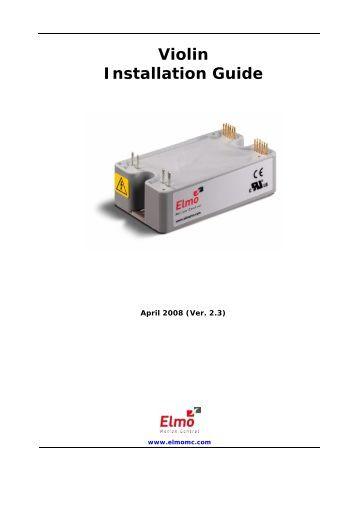 Gold bell digital servo drive installation guide elmo motion control Elmo motor controller