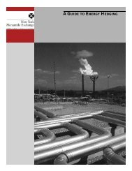 A GUIDE TO ENERGY HEDGING