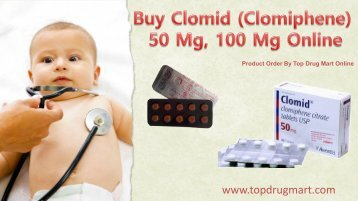 Buy Clomid (Clomiphene) 50 mg 100 mg Online