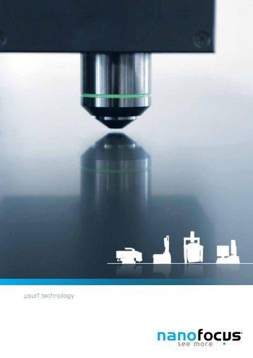 download our technology brochure - NanoFocus