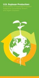 US Soybean Production: A Comparison of Sustainable ... - Vegetarian