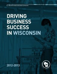 annual report - In Wisconsin