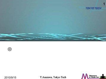 Presentation - 東京工業大学